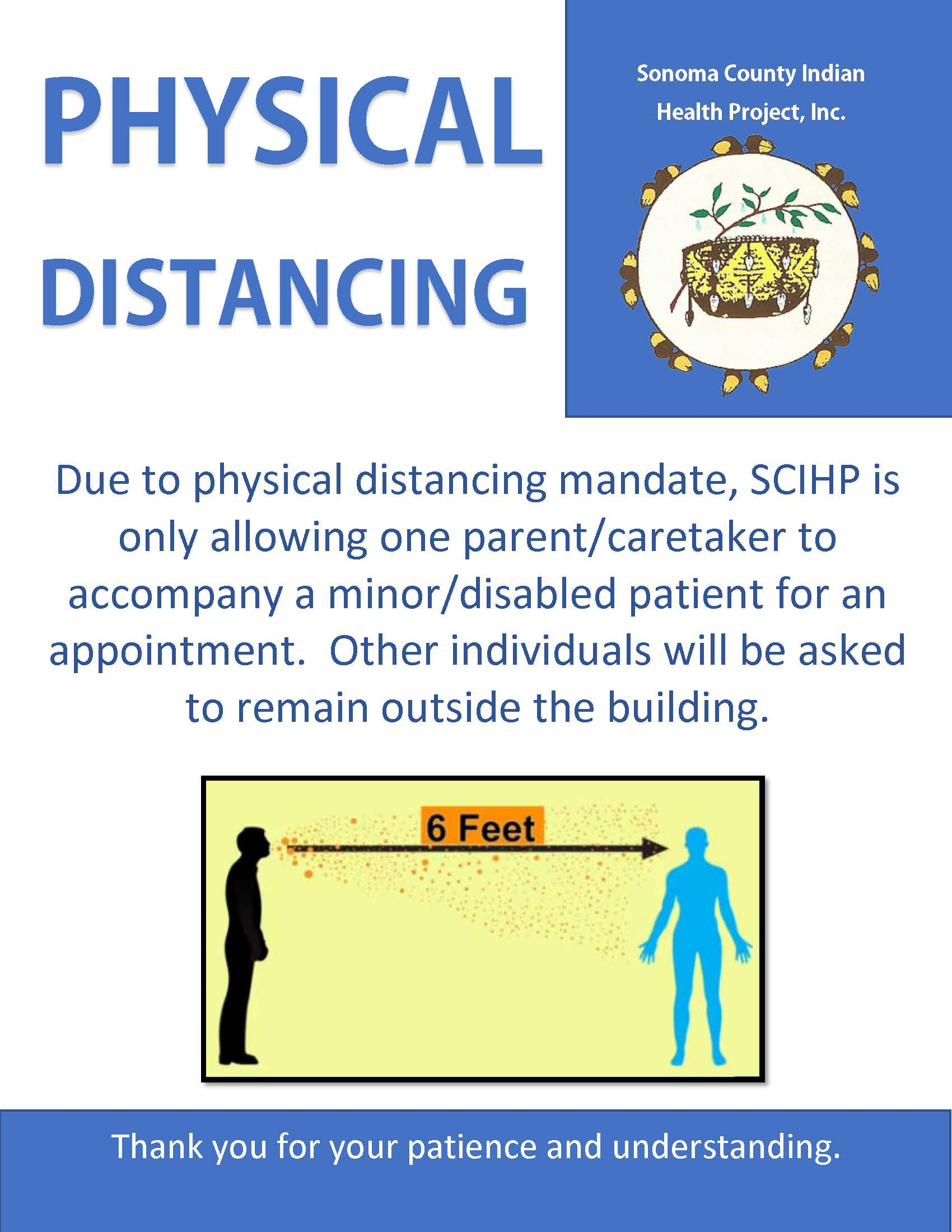 Social Distancing for patients