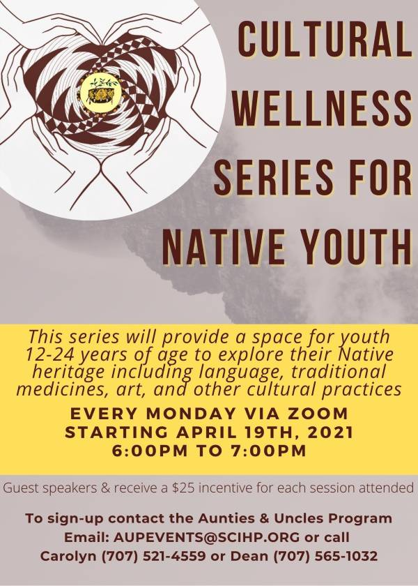 Native youth Cultural Wellness