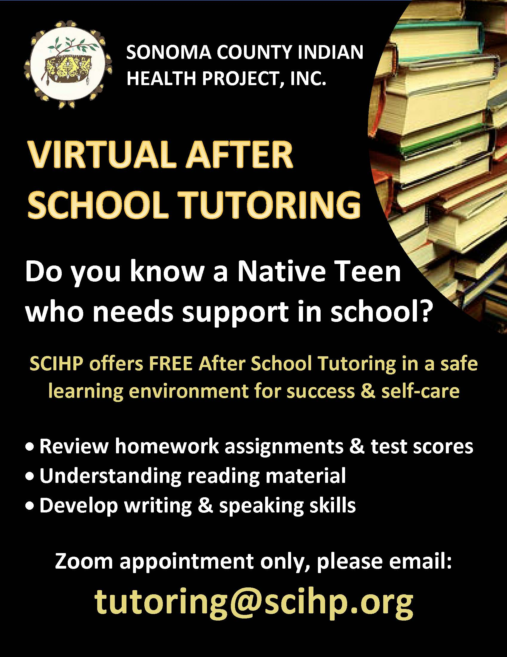 Link to SCIHP Virtual Teen Tutoring for accessibility